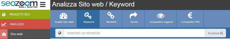 Cerca le migliori e peggiori parole chiave - SEOZoom
