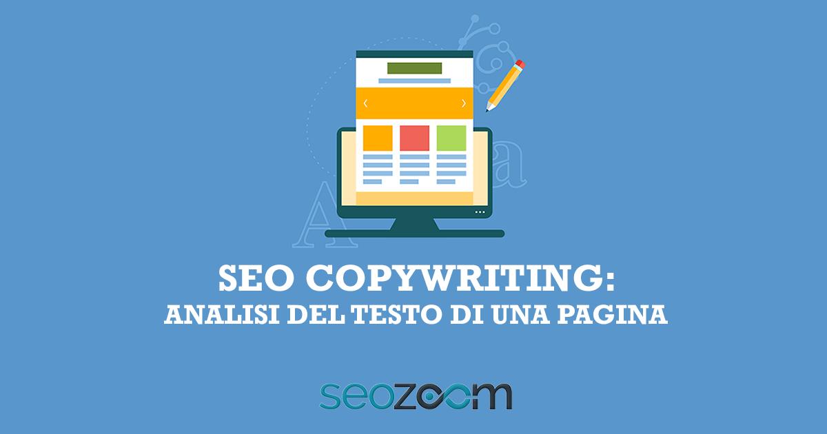 SEO copywriting e analisi keyword nel testo