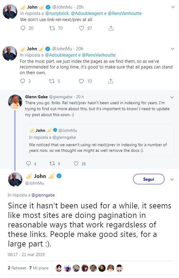 Le spiegazioni di John Mueller