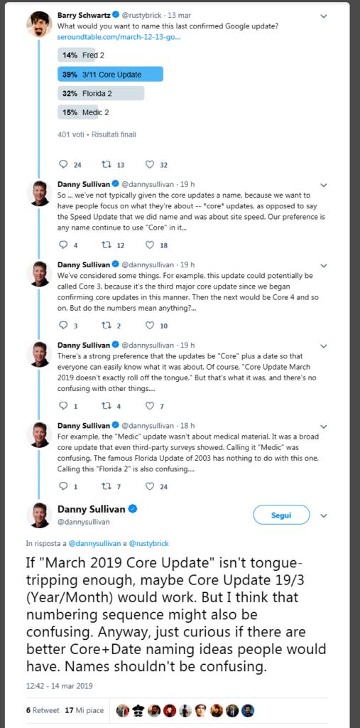 Evitare confusioni, le spiegazioni di Danny Sullivan