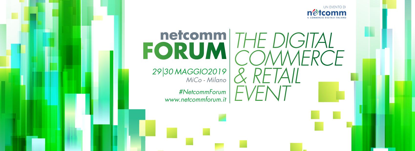 Netcomm Forum 2019 per eCommerce
