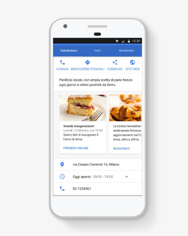 Google My Business, un esempio