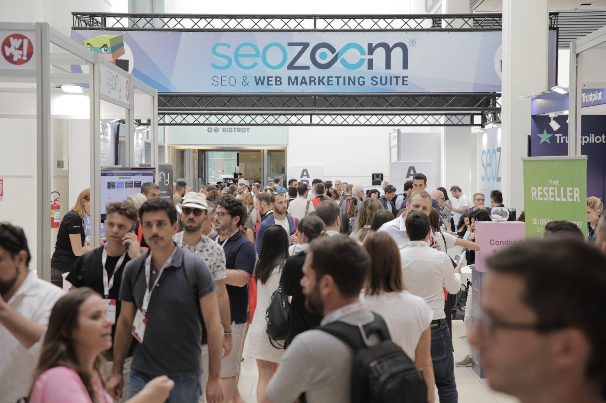 Lo stand di SEOZoom a Rimini