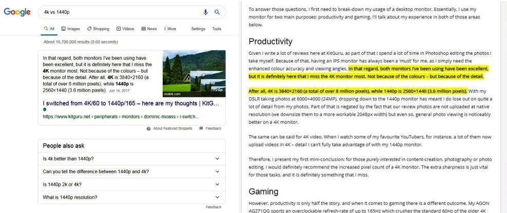 Google search, come funziona la nuova feature