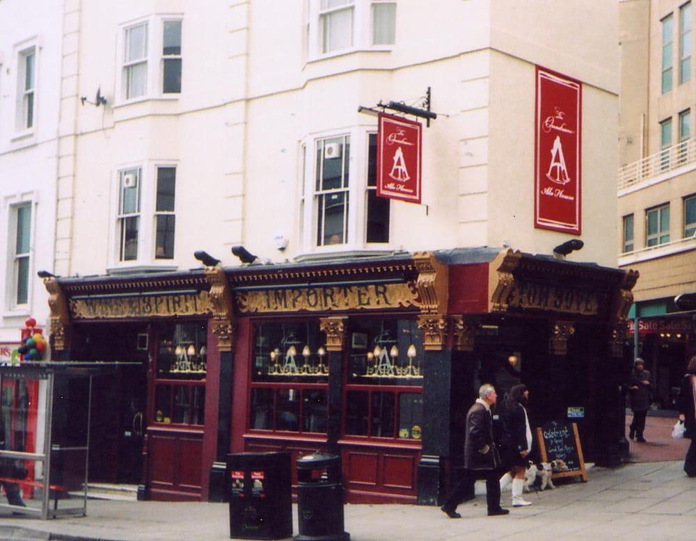 Il Quadrant a Brighton