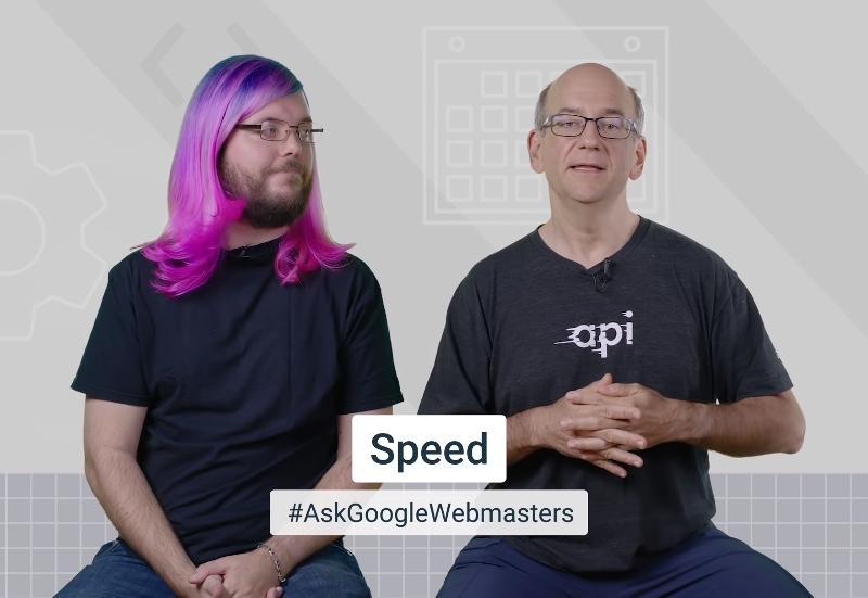 Le risposte dei googler sulla velocità