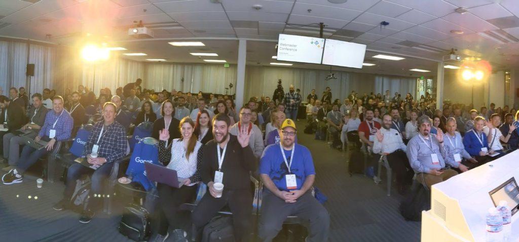 Oltre 200 SEO all'evento Google