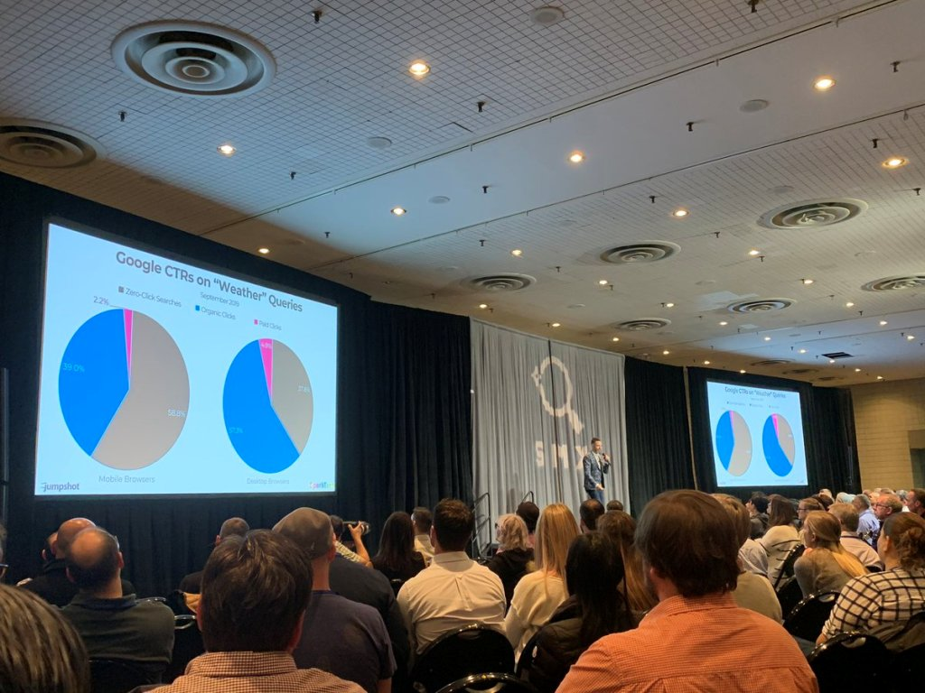Keynote di Rand Fishkin sull'evoluzione di Google