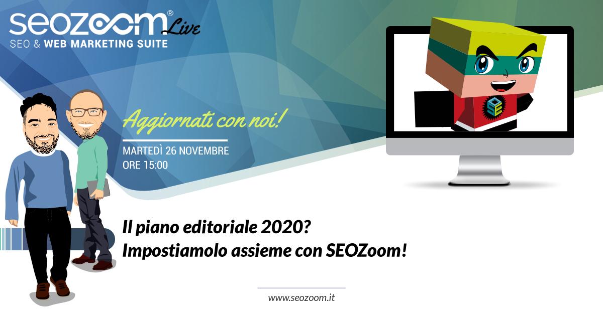 piano editoriale 2020