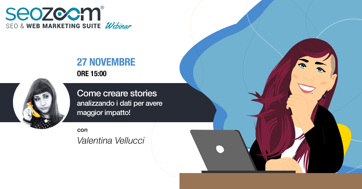 webinar creare stories data driven