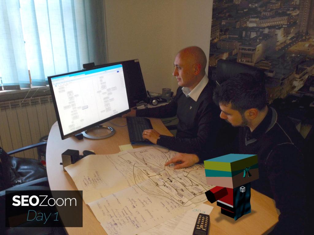 Ivano Di Biasi e Giuseppe Liguori al lavoro su SEOZoom