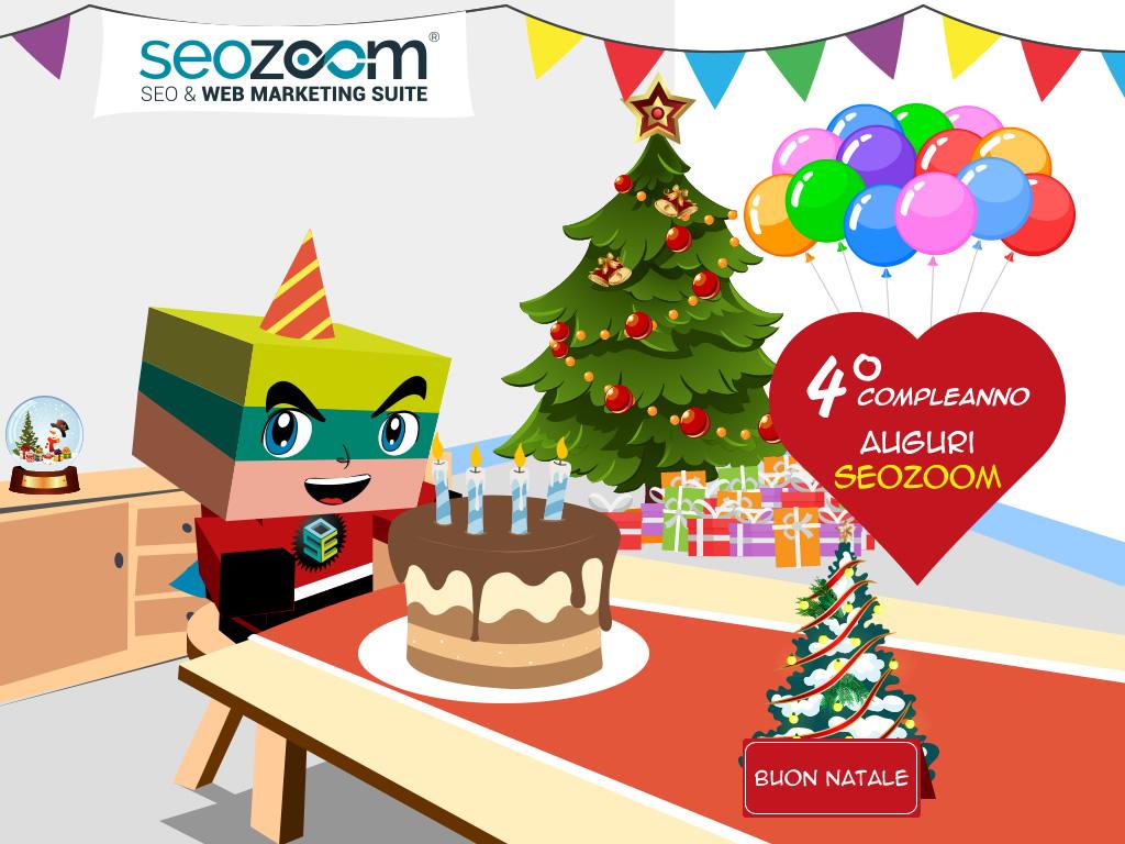 SEOZoom festeggia i 4 anni di attività