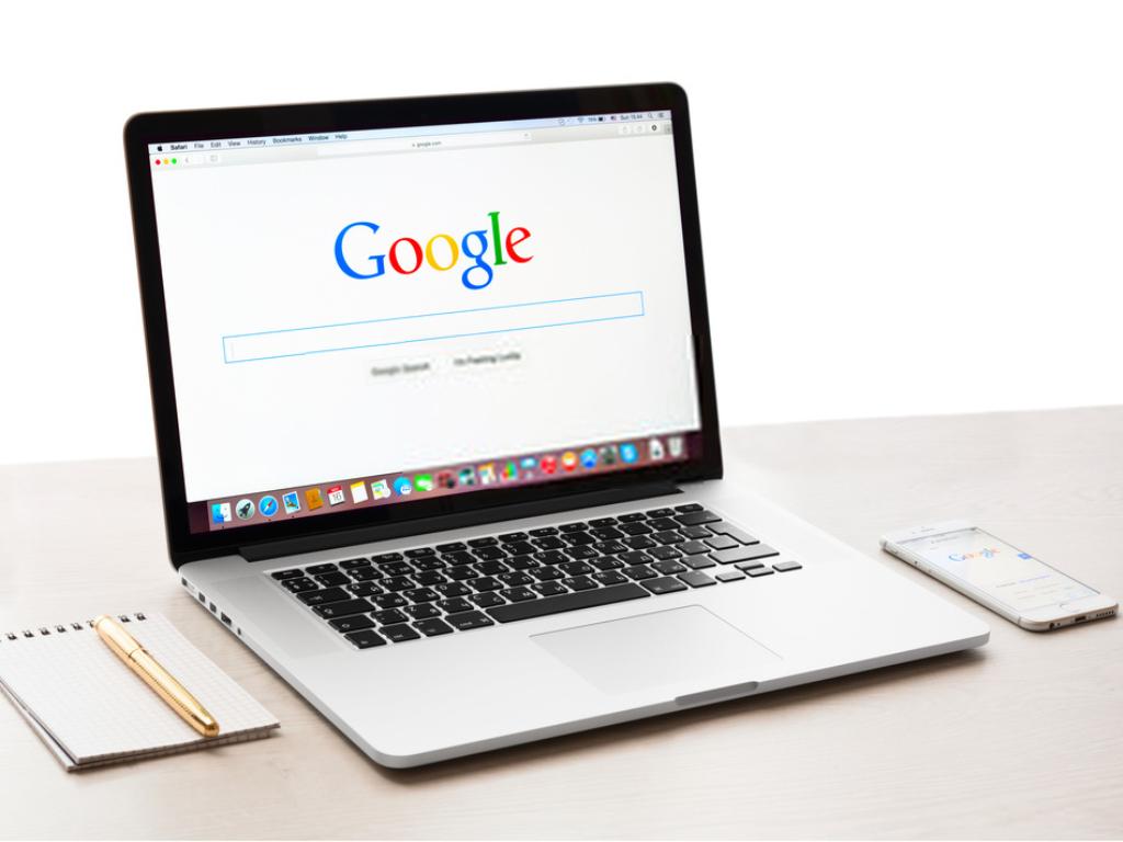 Layout Google Ricerca desktop