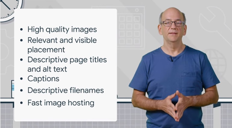 Consigli di Google per ottimizzare le immagini