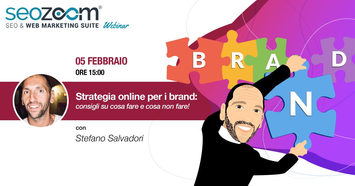 webinar strategia online brand