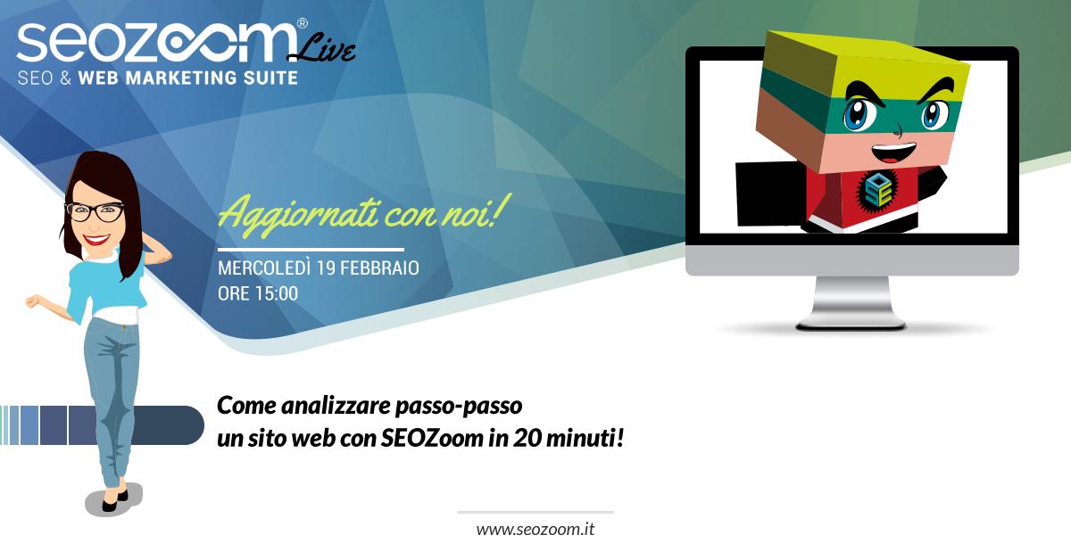 webinar come analizzare un sito web