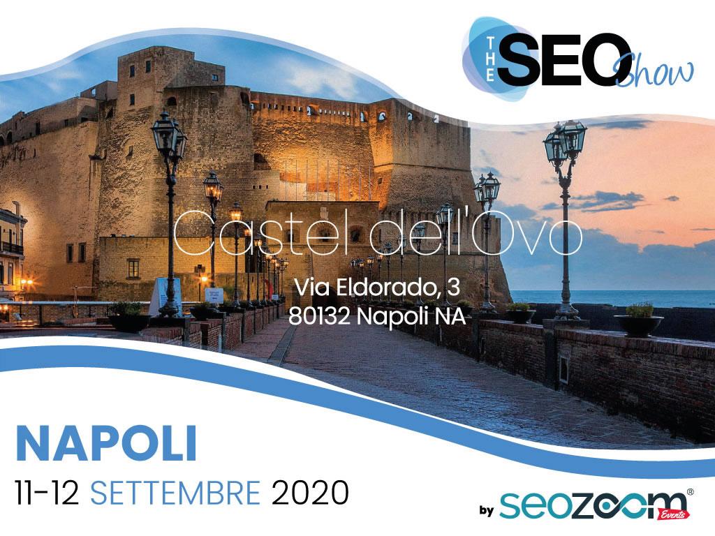 The SEO Show a Napoli, 11 e 12 settembre