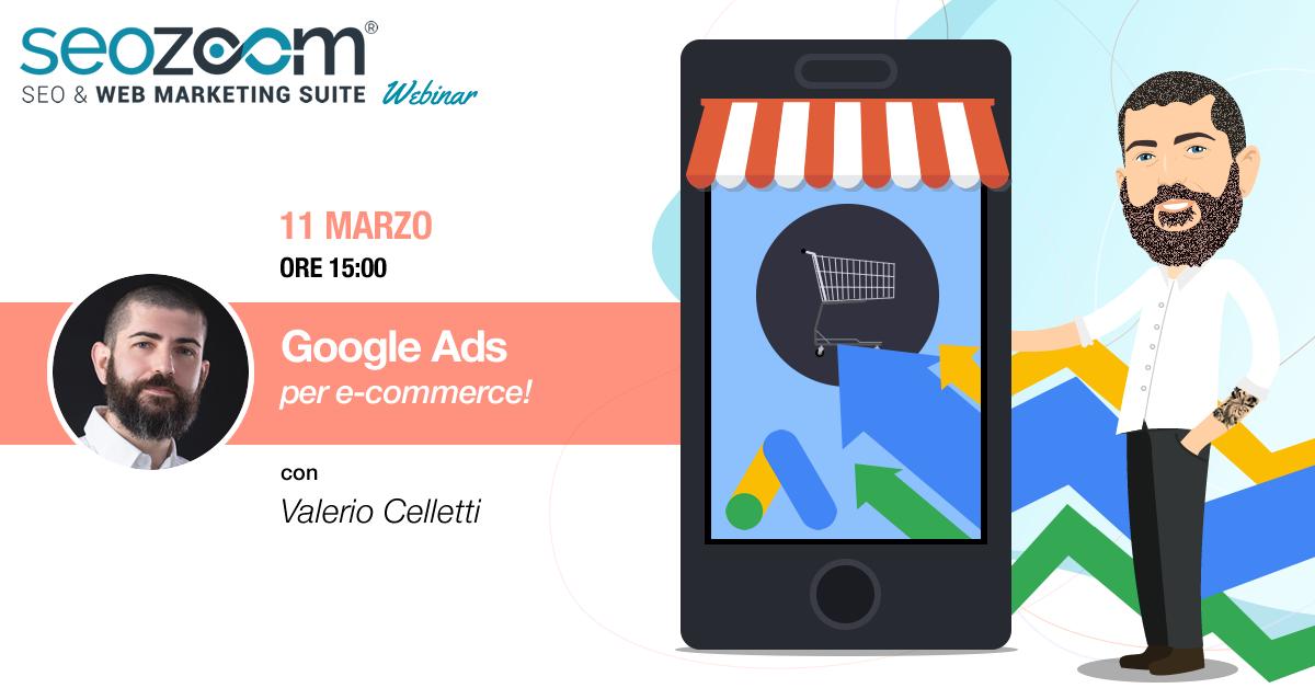 Webinar: Google Ads per e-commerce