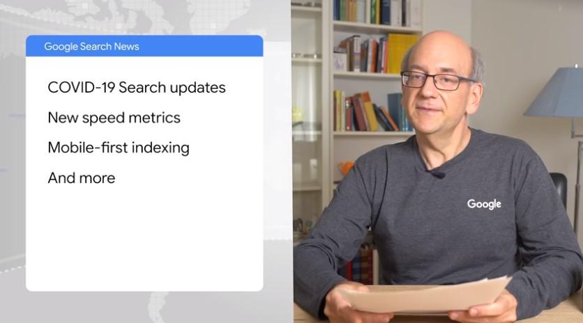Il sommario dell'episodio di Google Search News di Maggio