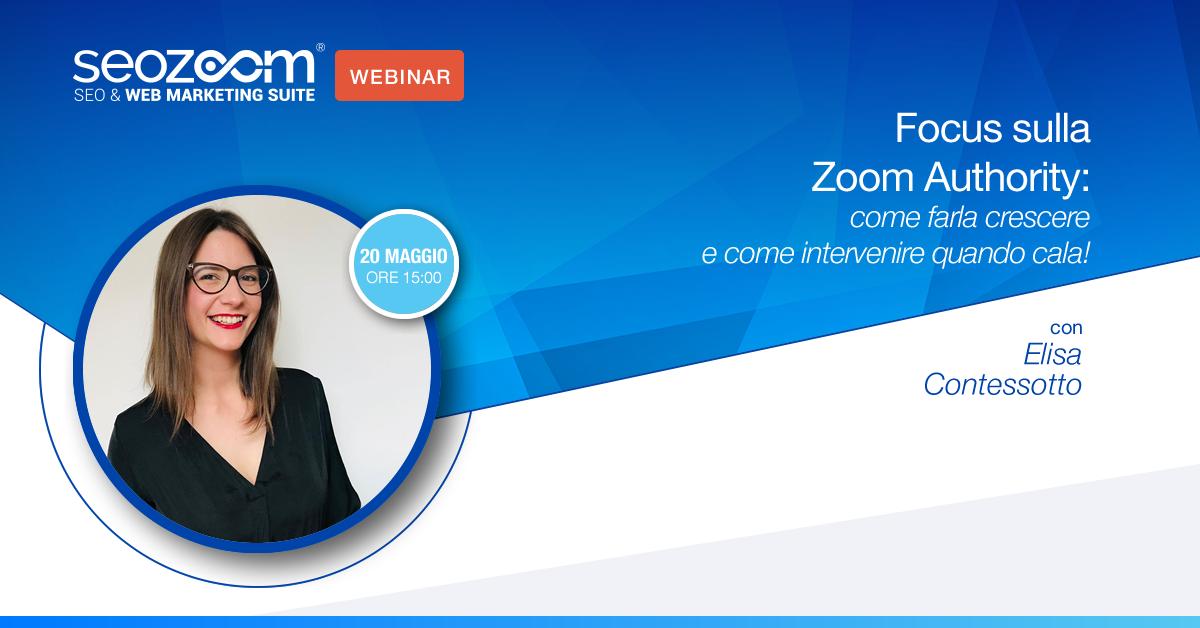 Webinar sulla Zoom Authority!