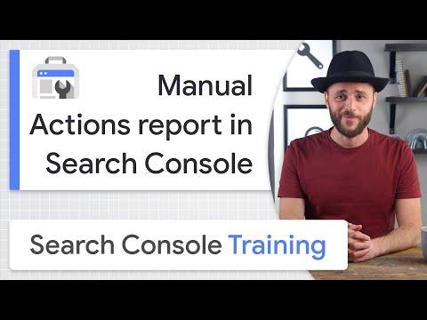 Guida di Google sulle azioni manuali
