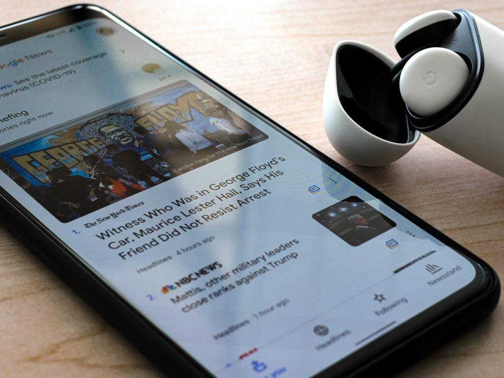 Google Web Stories AMP per dispositivi mobile