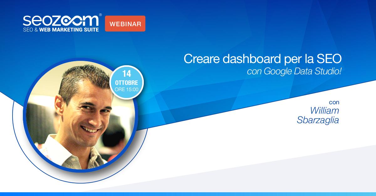 Creare dashboard con Google Data Studio