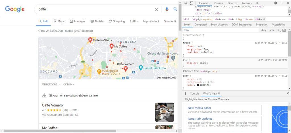 Come cambiare le impostazioni di ricerca di Google