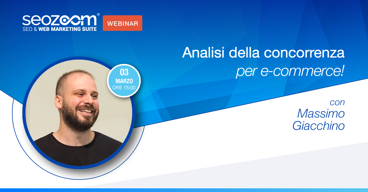 Webinar: Analisi della concorrenza per e-commerce