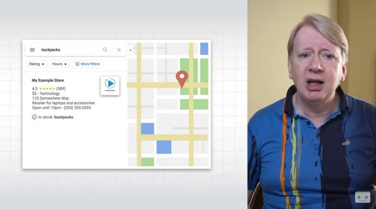 Prodotti in Google Maps