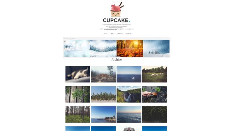 Screen di Cupcake