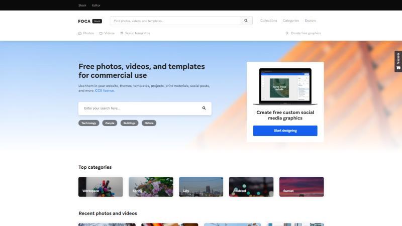 Screen di Focastock