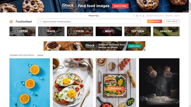 Screen di Foodiesfeed