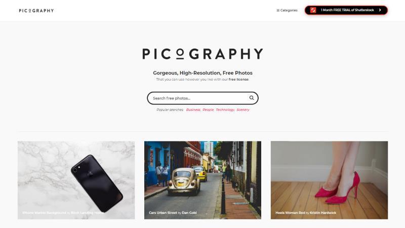 Screen di Picography