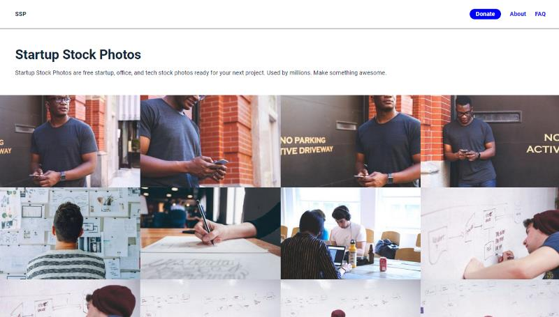 Screen di Startupstockphotos