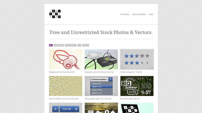 Screen di Unrestrictedstock