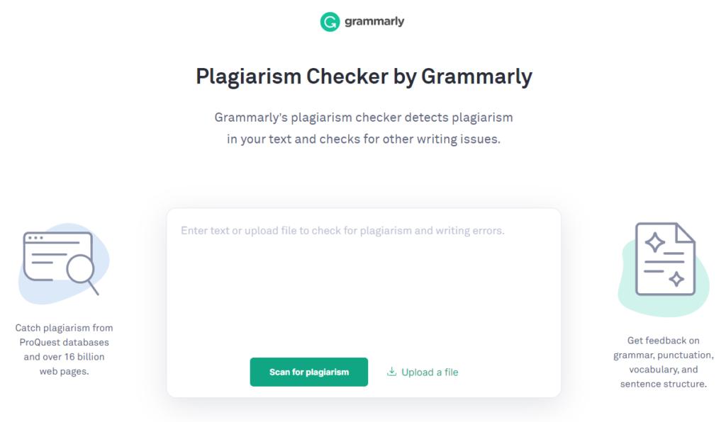 Schermata di Grammarly